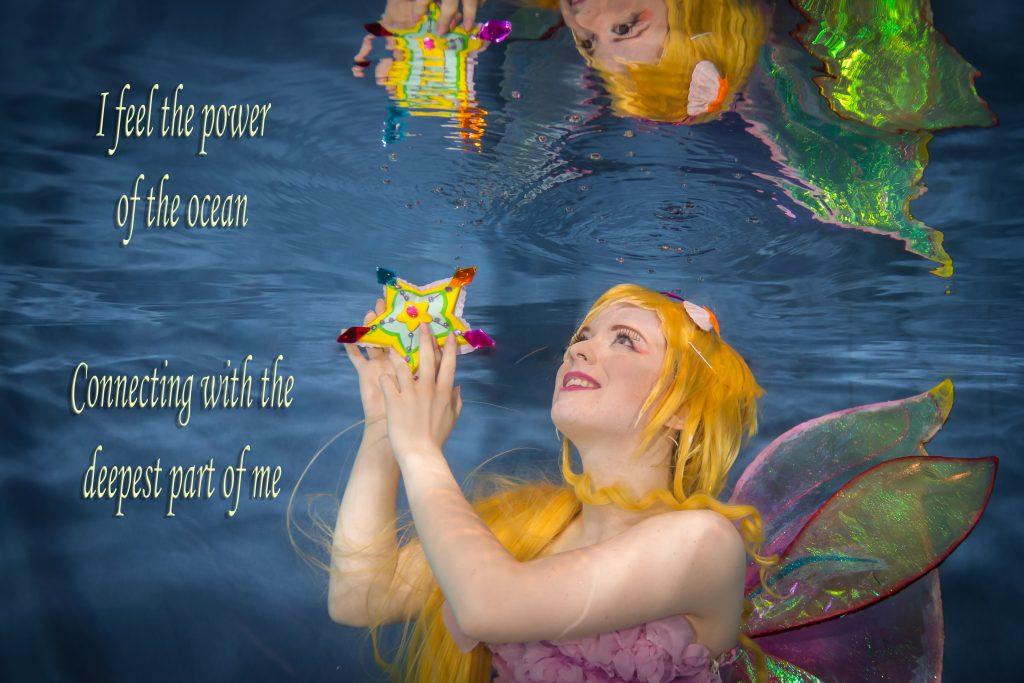 Fantasy foto onderwater